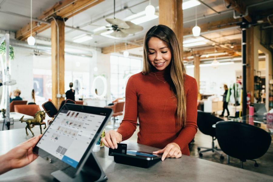 moderne Kassensysteme Einzelhandel